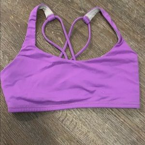 Lululemon purple sports bra
